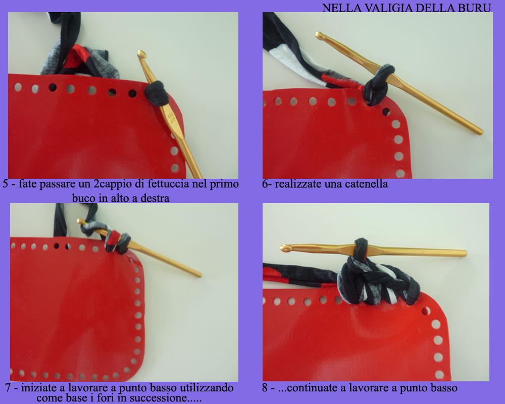 Borse Da Sera Fai Da Te : Nella valigia della buru tutorial borse in fettuccia fai