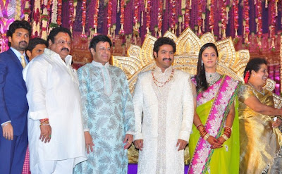 Family @ Jr NTR, Lakshmi Pranathi Marriage | Tollywood Stars Profile