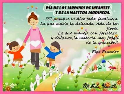 Colegio san esteban d a de los jardines de infantes for Cancion para saludar al jardin de infantes