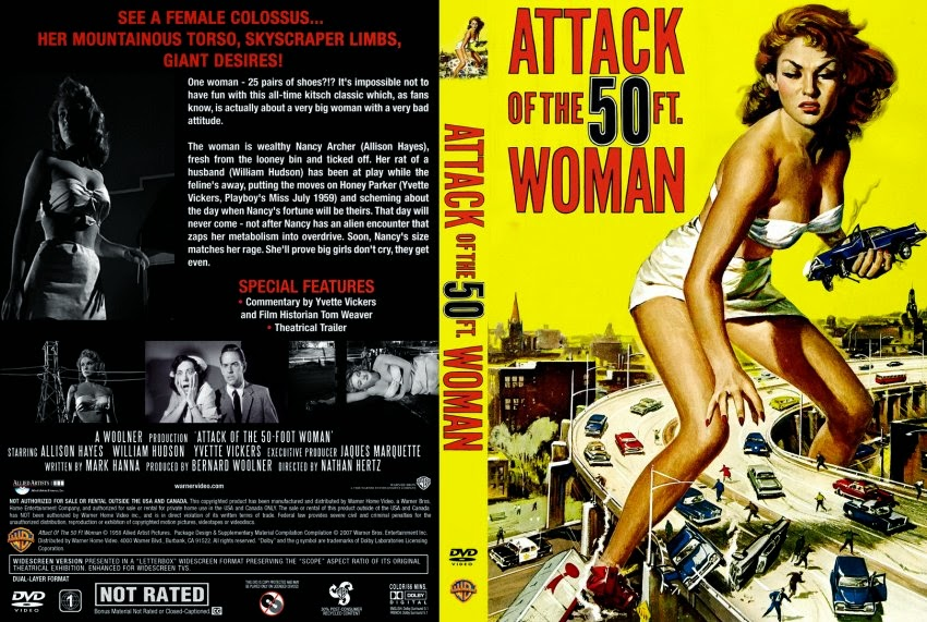 Watch Attack of the 50 Foot Woman 1958 Full Movie on