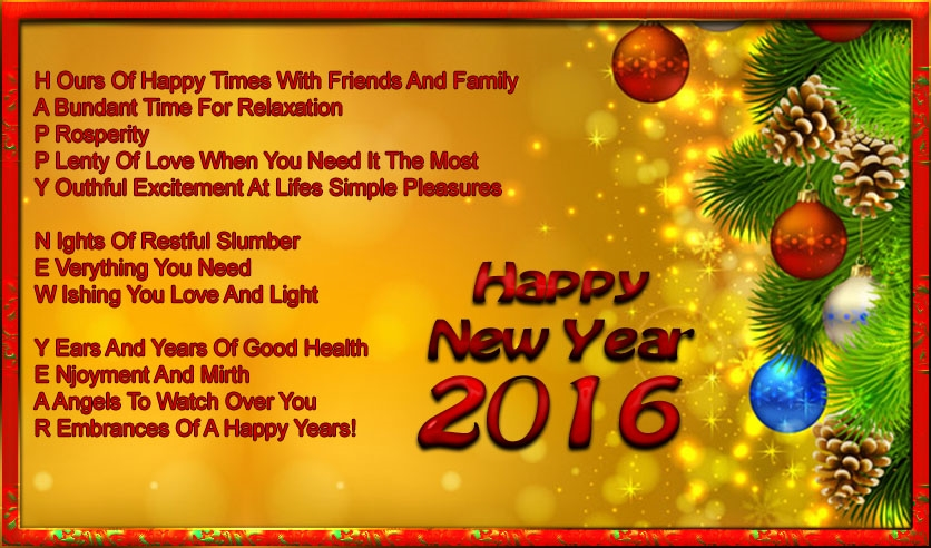 Beautiful happy new year quotes 2016 greetings m4hsunfo