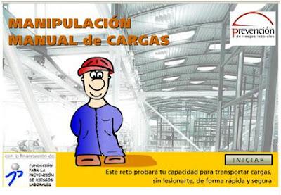 manipulacion manual de cargas pptp