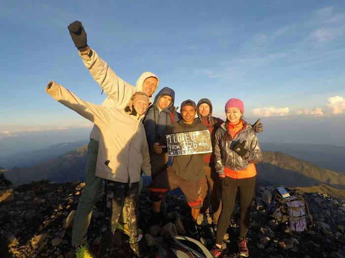 rinjani hike package