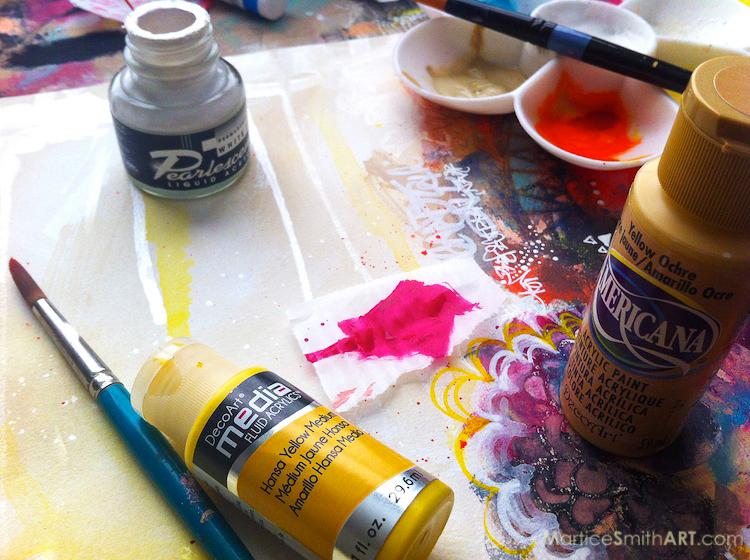 MarticeSmithART-paints-color palette