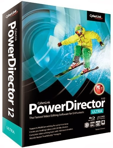 CyberLink PowerDirector 12 Ultra Free Download For Windows