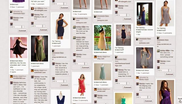 How to choose a bridesmaid dress | Bobbins of Basil