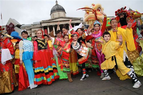 Funny Chinese New Year Celebrations In London
