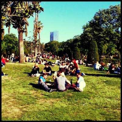 Domingo en el Parque de la Ciutadella