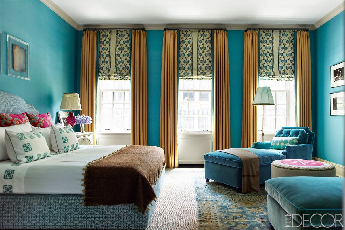 Turquoise the color of good fortune architecture decorating ideas Blue and brown bedroom ideas for decorating