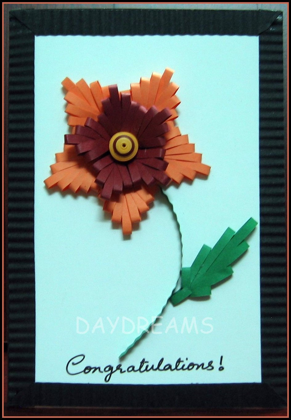 Daydreams quilling comb we need a quilling comb to create this pattern i have used an ordinary comb to make this flower mightylinksfo