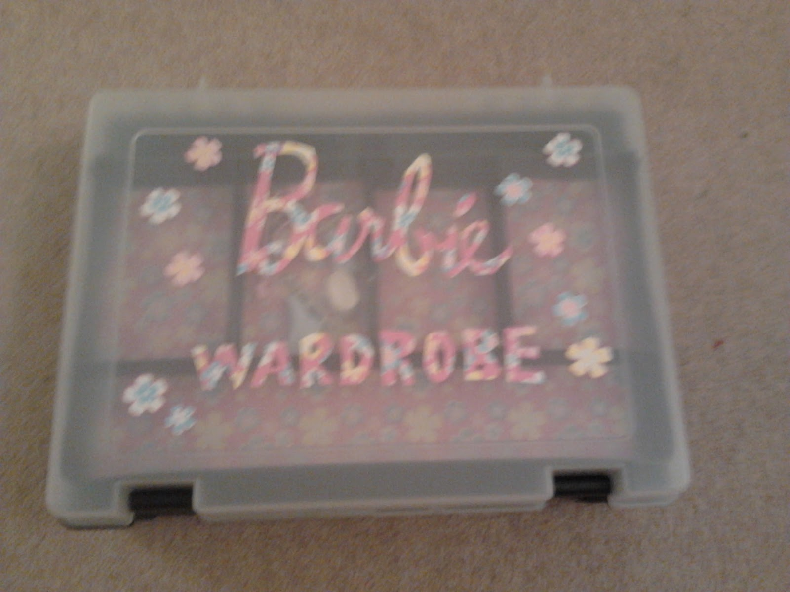 They are just getting into Barbieu0027s which were my utter obsession as a child and I am so excited they like them too! & Cobble u0026 Gobble: Homemade Gift 5 - A Barbie clothes storage/wardrobe