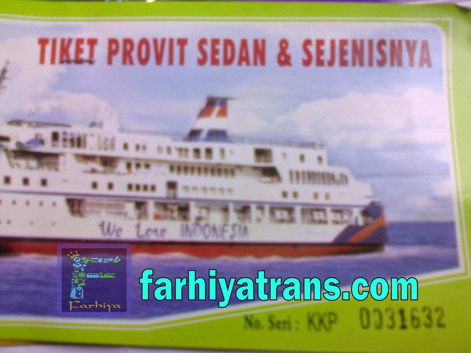 tiket kapal laut murah