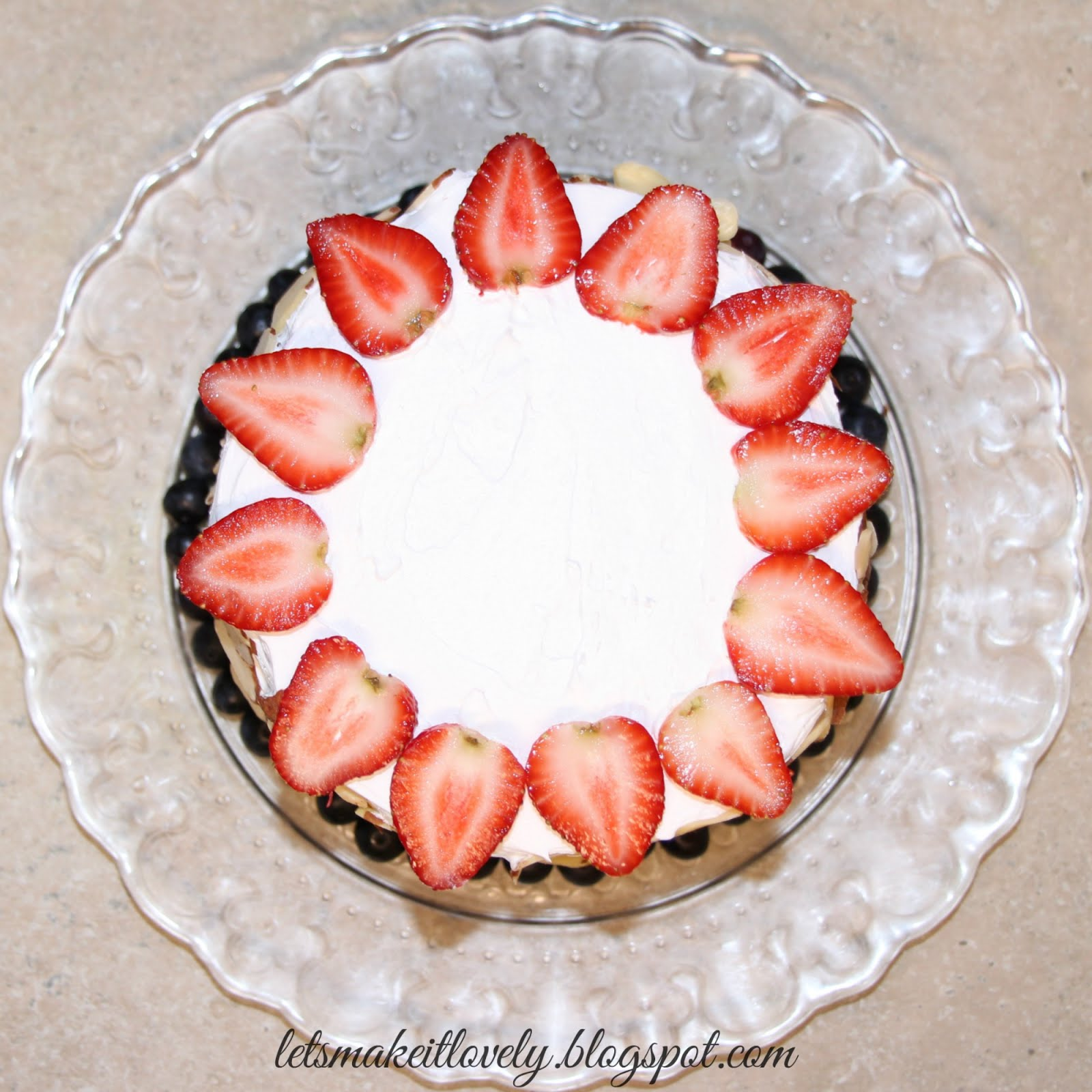 DIY easy and quick no bake fruit cake. A healthy alternative. Holiday Recipes.