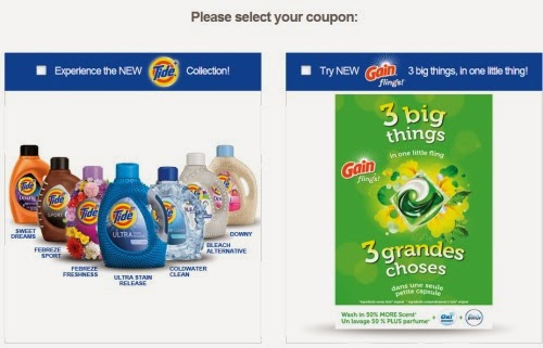 Canadian Daily Deals: P&G Special Hidden Coupons Tide & Gain Flings