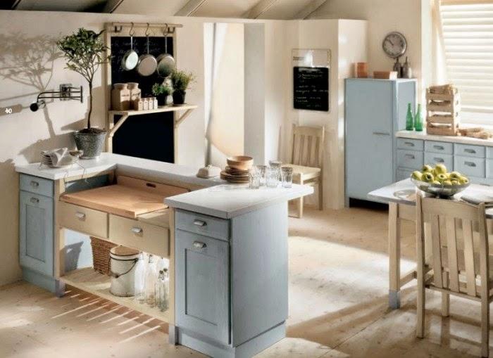 Muebles y decoraci n de interiores hermosas cocinas for Muebles estilo italiano