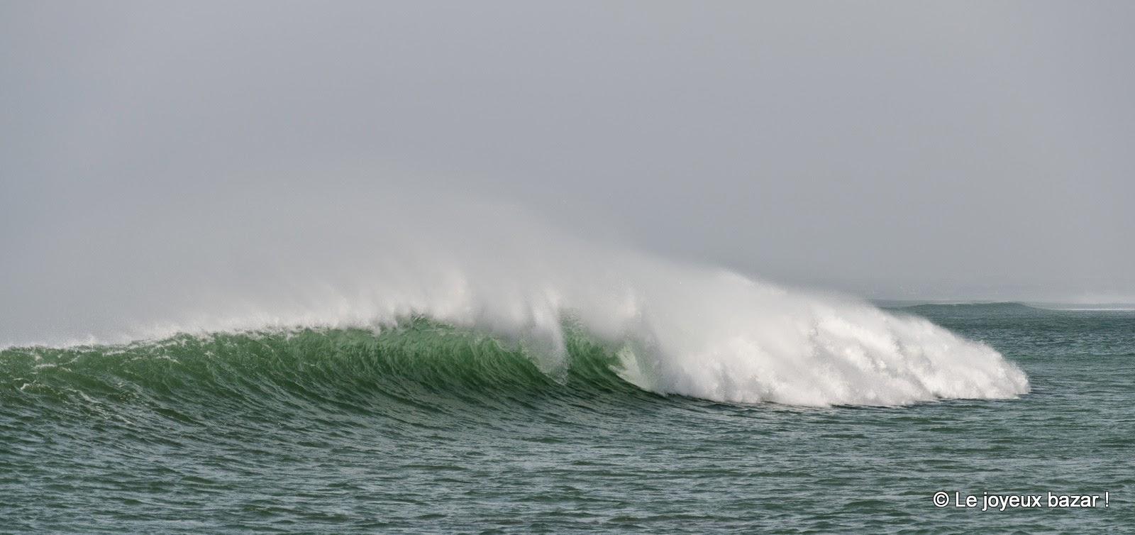 Bretagne - La Torche - vague