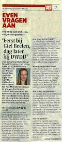 In het AD Even Vragen Aan: 20 november 2011
