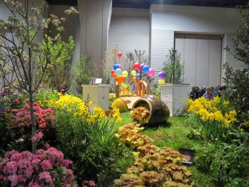 Philadelphia Flower Show 2015 movie theme Winnie the Pooh