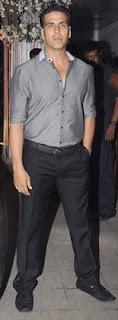 Akshay Kumar at Director Rohit Shetty's sister's wedding