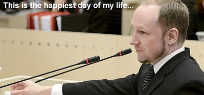 Breivik: This is the happiest day of my life