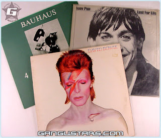 David Bowie rest in peace rip Bauhaus Iggy Pop