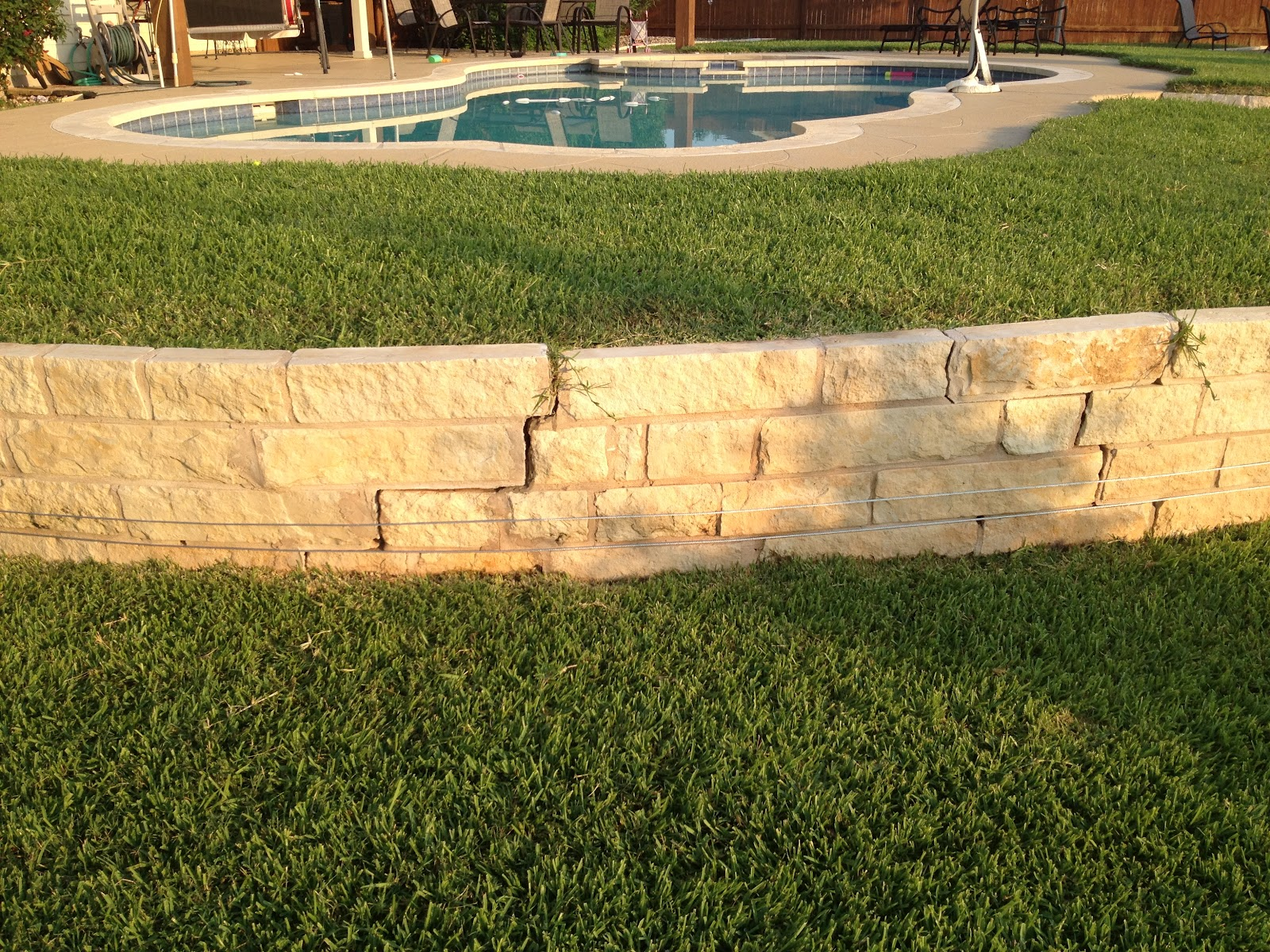 Reinforcing a Retaining Wall   Mike\'s Miscellanea