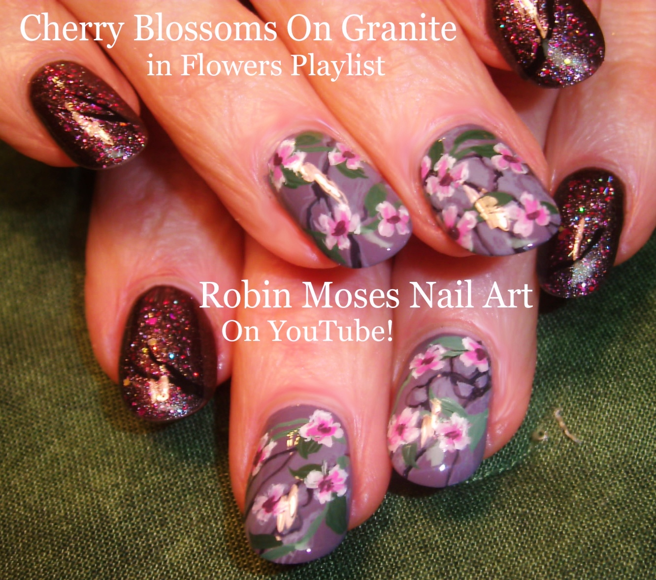 Dark togepi pictures to pin on pinterest pinsdaddy - Robin Moses Nail Art Nail Art With Cherry Blossoms In White On Cherry Blossom Nail Art