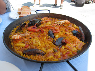 Barcelona paella