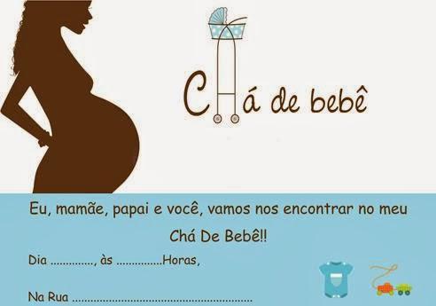 Convite para chá de bebê passo a passo 5