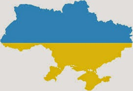 Ukraine colours and country from wikimedia