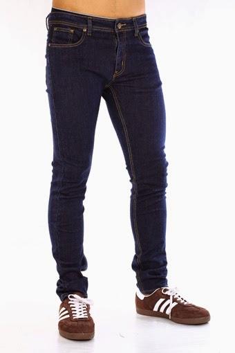Celana Jeans DC Biru Dongker/ Celana Jeans Pria, Grosir Celana Jeans