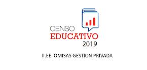 CENSO EDUCATIVO 2019 OMISAS GESTION PRIVADA
