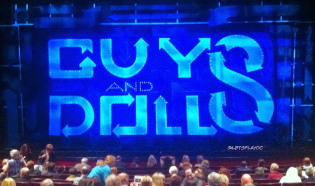 GUYS AND DOLLS Musical Tour Segerstrom Center, Costa Mesa, CA #GuysAndDollsTour #SCFTA