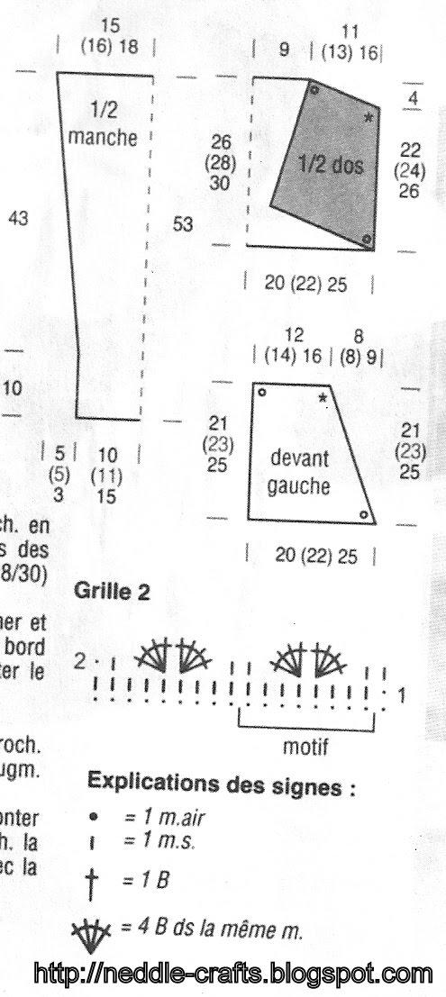 ورشة بوليرو كروشية بالبترون ..شرح بالصور 4f