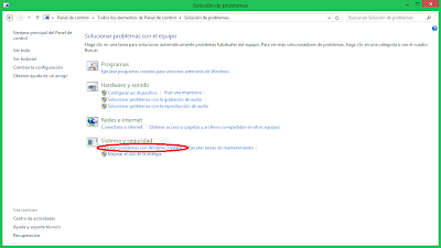 Windows 8 - Solución de problemas