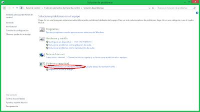 Windows 8 - Solución de problemas