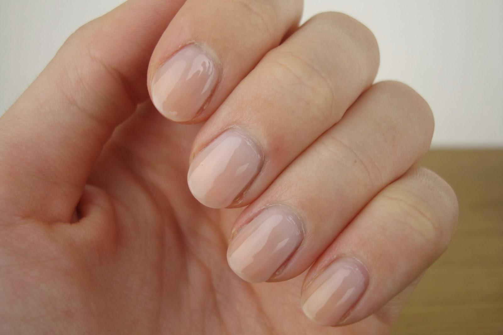 Hannah Georgina: Nutra Nail Gel Perfect 5 Minute Gel-Colour Manicure!