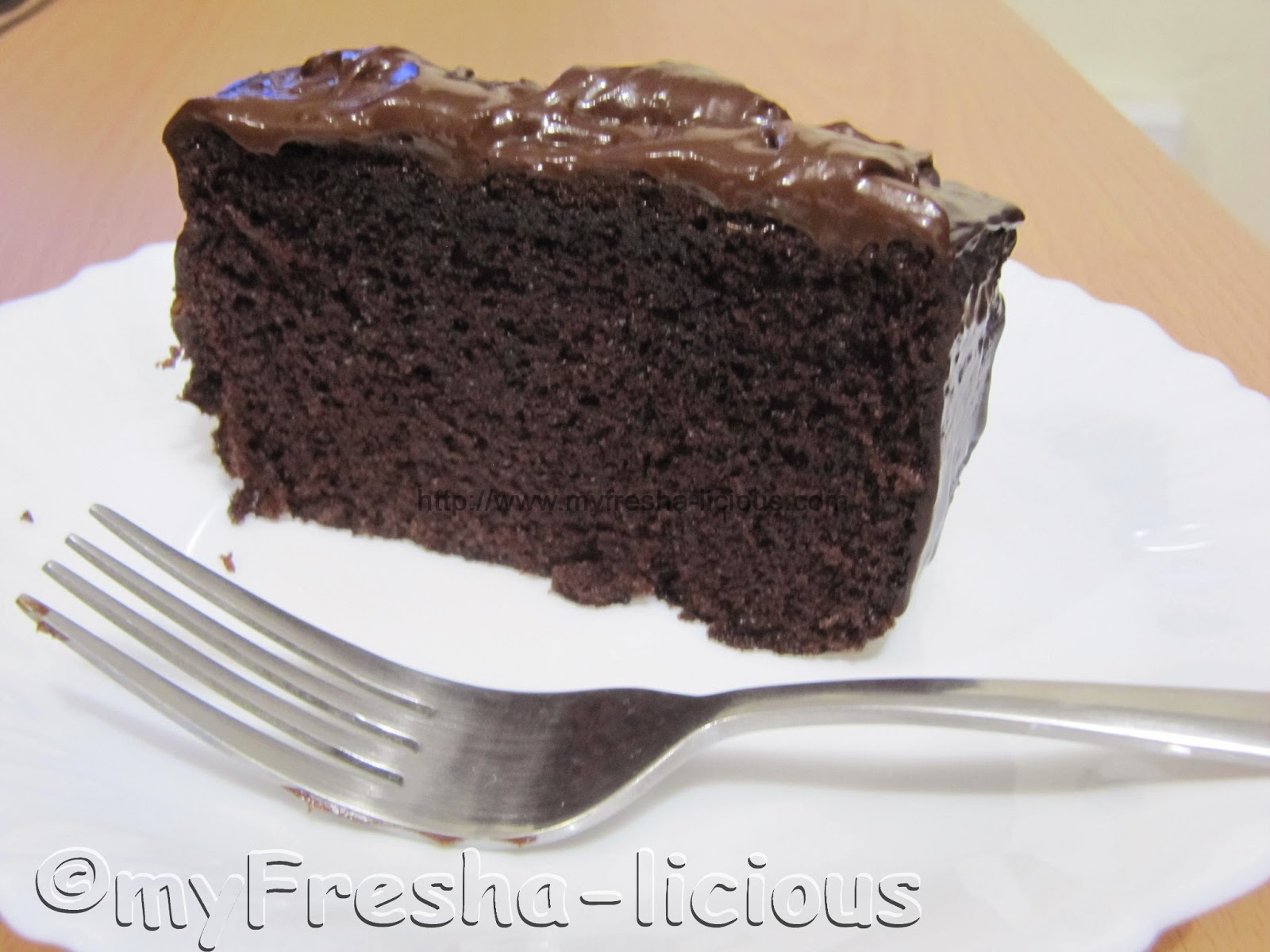 Filipino Recipe Of Moist Chocolate Cake