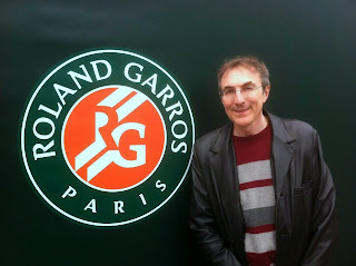 Philippe Dornbusch à Roland Garros - Photo © Chess & Strategy