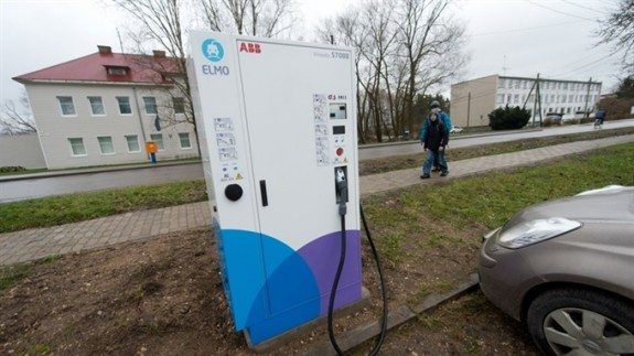 Электрическая заправка в Эстонии