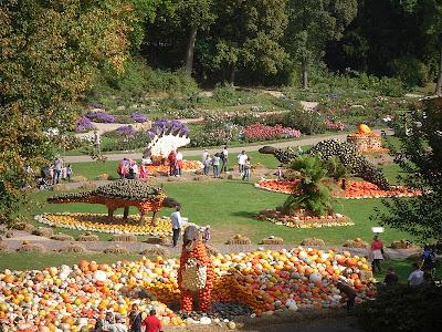 Culinary adventures in europe the pumpkin festival - Botanic gardens pumpkin festival ...