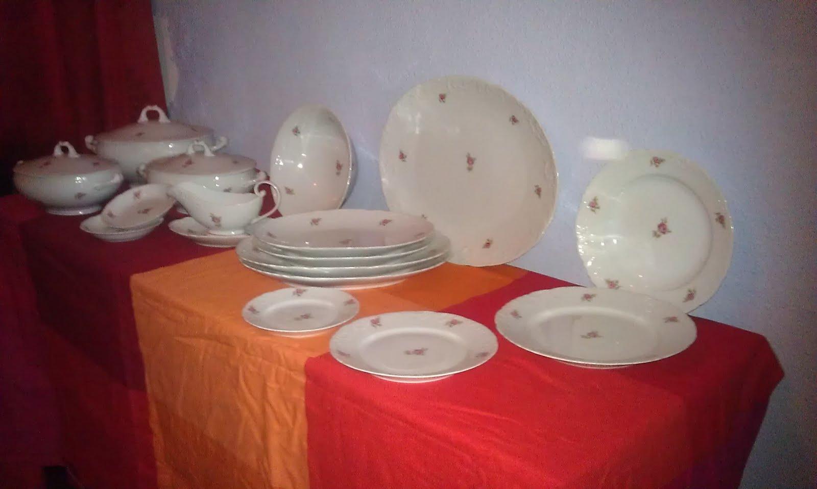 Gangas 2nd hand vajilla de porcelana portuguesa 74 for Marcas de porcelana
