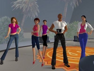 Second Life game online PC