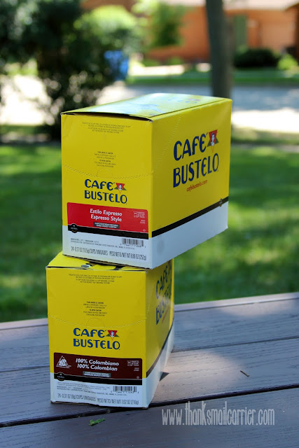 Cafe Bustelo k-cup coffee