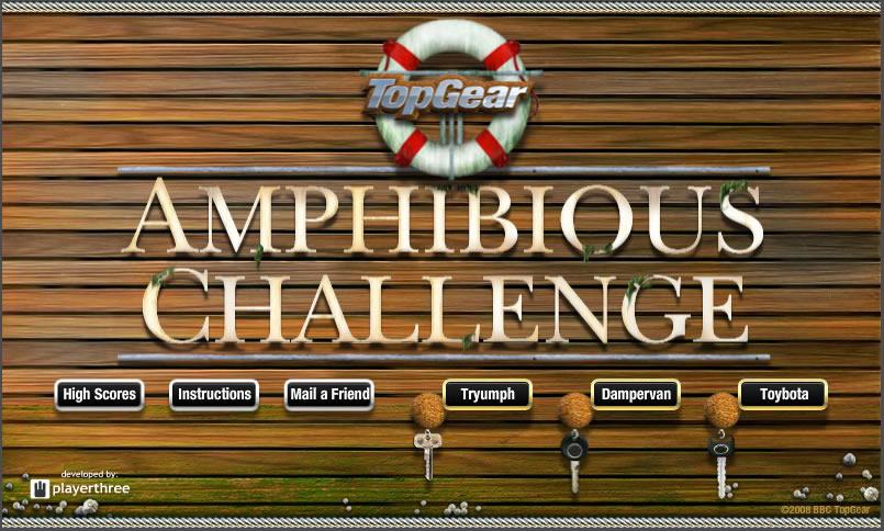 Truck Game : Amphibious Challenge