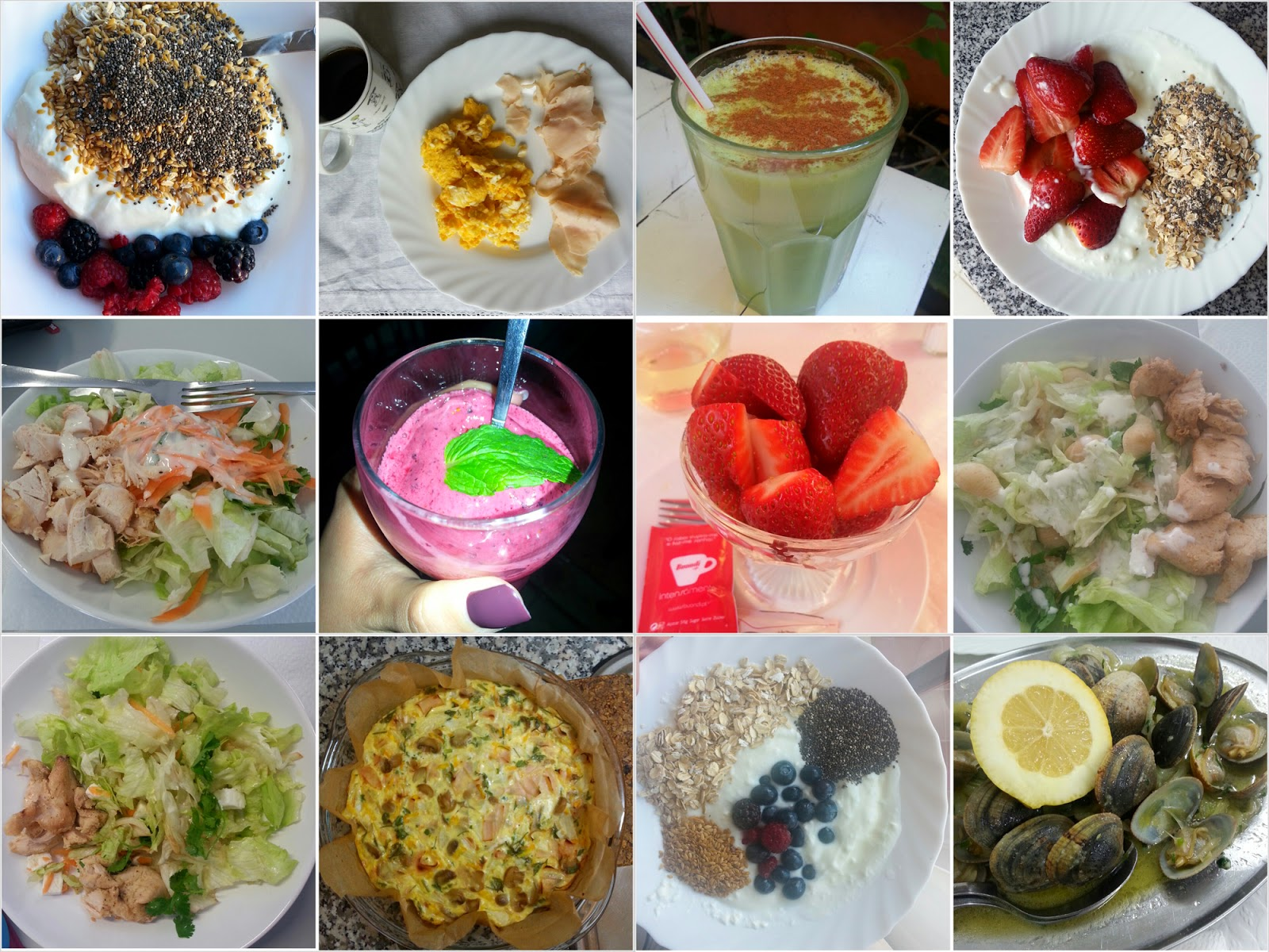 Healthy Meals by Living in B's Shoes