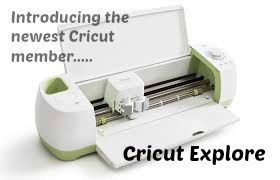 Check out the Cricut Explore here!