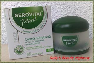 Review crema hidratantă cu extract de floare de colț din gama Gerovital Plant - Farmec