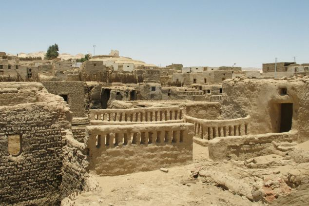 The medina district in the settlement of Al-Qasr in the Dakhla Oasis of western Egypt, where the researchers studied the skeletons of children to find the time of the year they were born