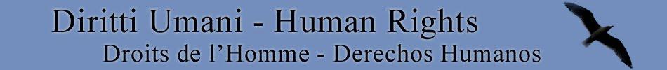 Diritti Umani - Human Rights